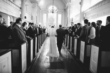 Wedding hosted at Christ Church